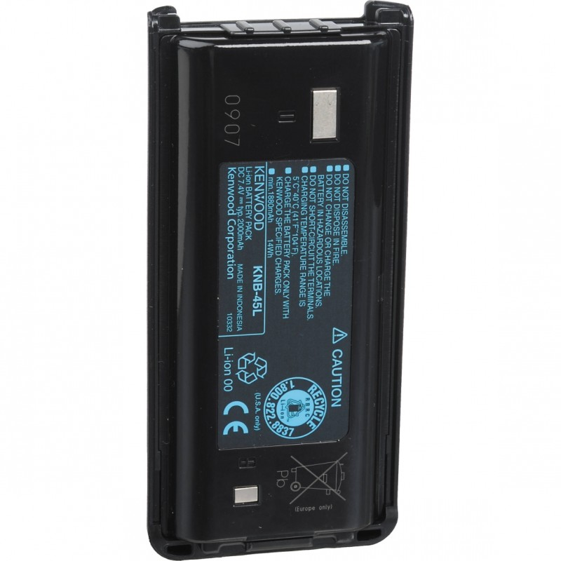 KENWOOD KNB-71L Rechargeable Battery,Lithium Ion,1430mAh