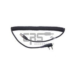 HEADSET CABLE EARMUFF PTT - CRS-HDHS-EMC